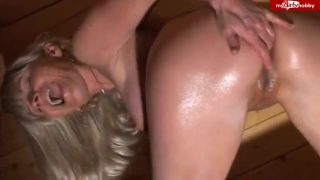 Amateur-Blondie – Rein in den Arsch