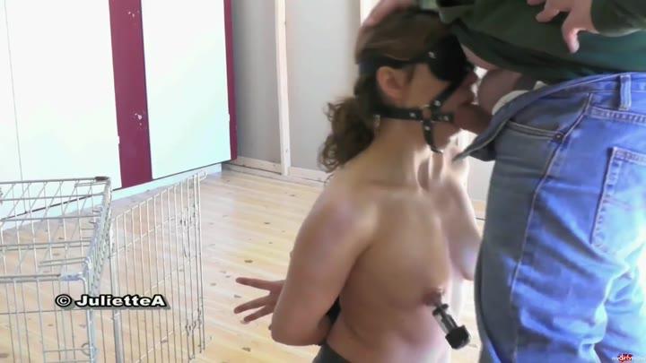 Blowjob harness